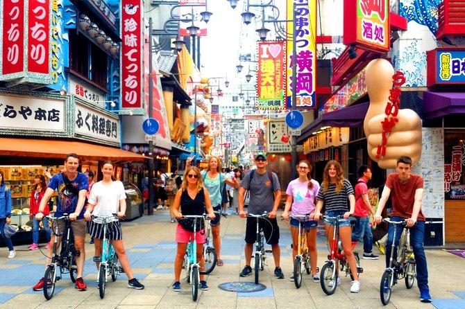 Excursão de bicicleta em Osaka