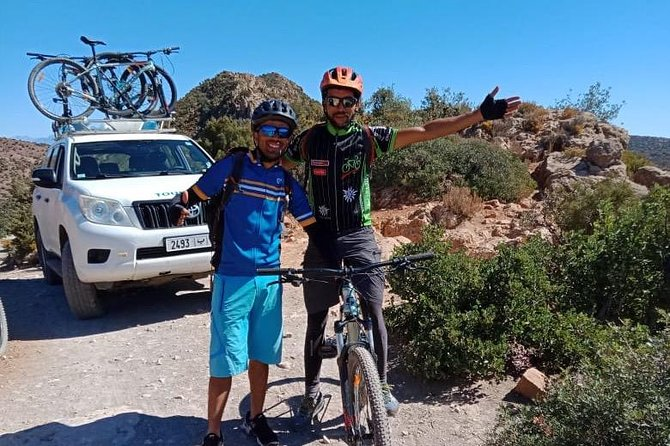Mountain bike from Marrakech to Orika valley - one day
