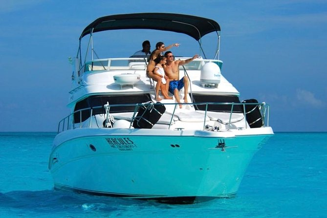 Private Yacht Tour to Isla Mujeres - 46 ft Sea Ray Tour and Cancun bay snorkel photo 3