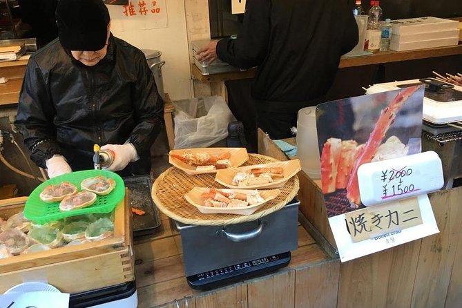 Investigating Tsukiji Fish Market and Enjoy amazing seafood