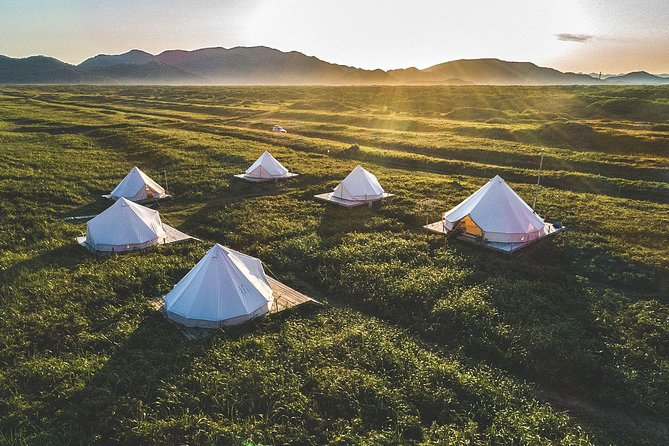 Mountain view tents