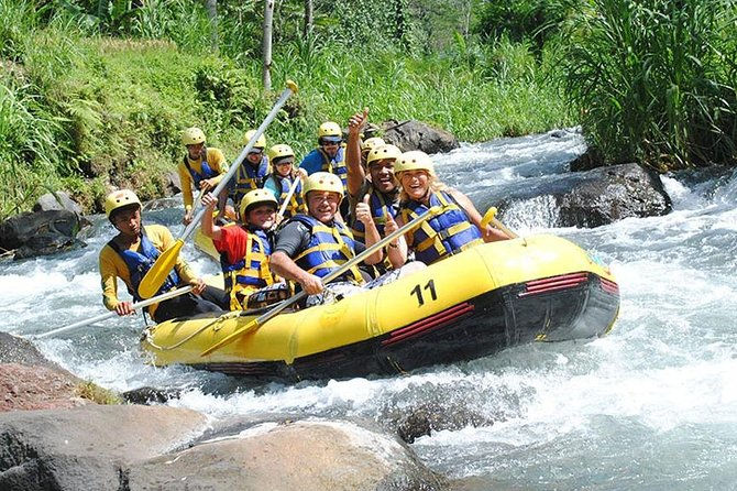 5km White Water Rafting and Jungle Tour From Phuket