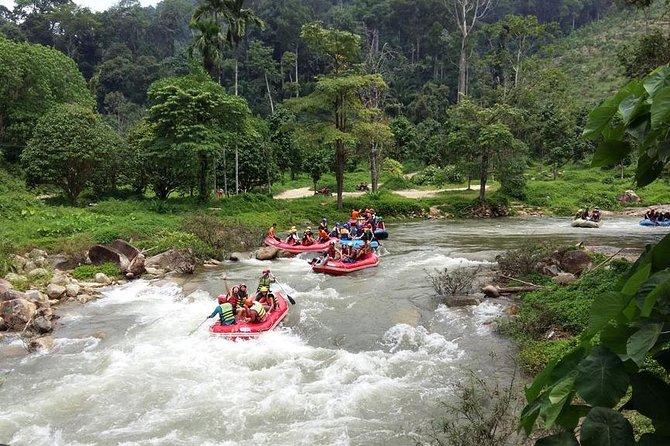 7km White Water Rafting Adventure Tour From Phuket