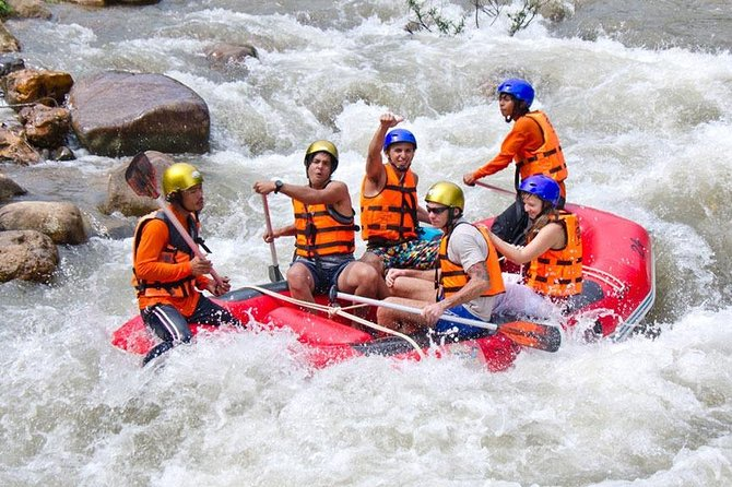 9 km White Water Rafting and Jungle Tour From Phuket