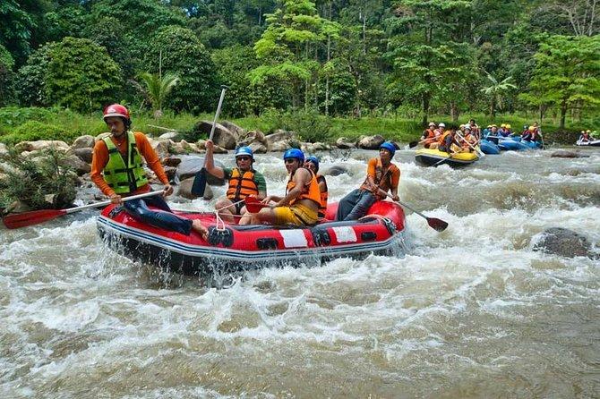 Rafting 9 km, ATV 30 Mins and Jungle Tour From Phuket