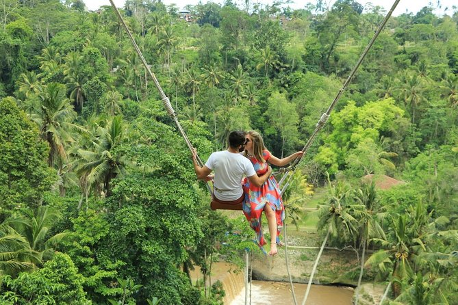 Bali Swing Pioneer in Ubud , Exhilarating Instagrammable Swings in Bali.