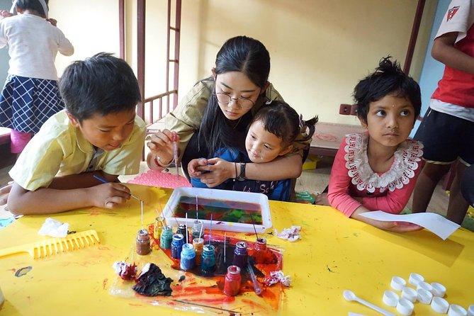 volunteering on women empowerment project