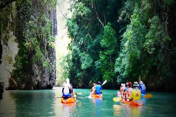 Half Day Cave Kayaking in 2 Sea Caves at Bor Thor from Krabi photo 16