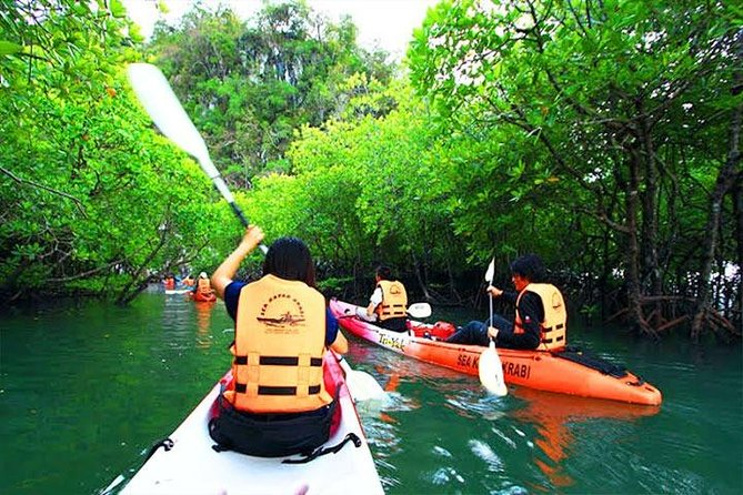 Half Day Cave Kayaking in 2 Sea Caves at Bor Thor from Krabi photo 2