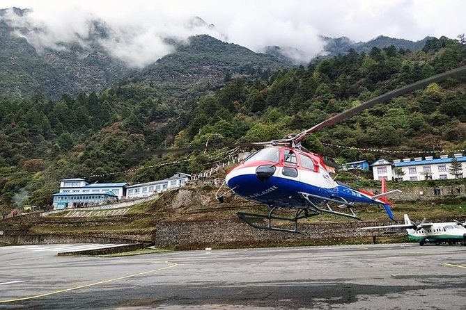 Lukla to Kathmandu Flight by Helicopter