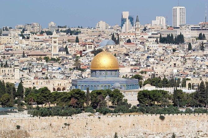 Jerusalem, Qasr al-Yahud and the Dead Sea tour from Jerusalem/Tel Aviv