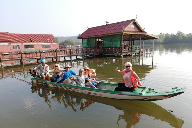 Full Day Sihanoukville City and Mangrove Boat Tour at Ream National Park,