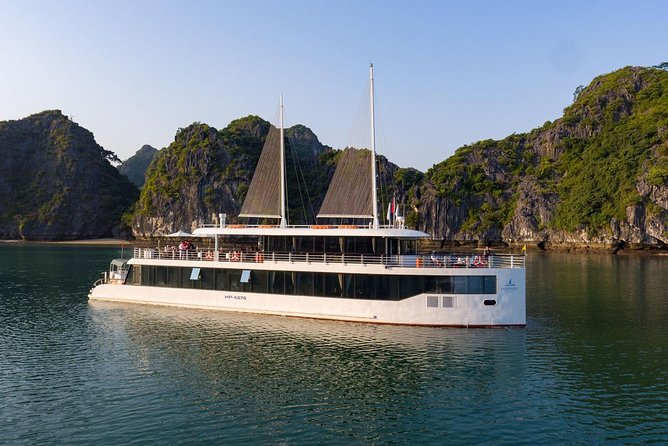 Halong bay Luxury one day tour from Tuan Chau island photo 6