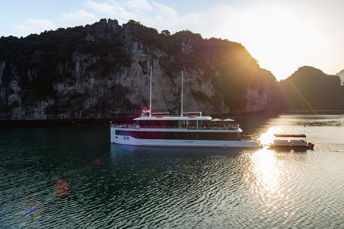 Halong bay Luxury one day tour from Tuan Chau island photo 16