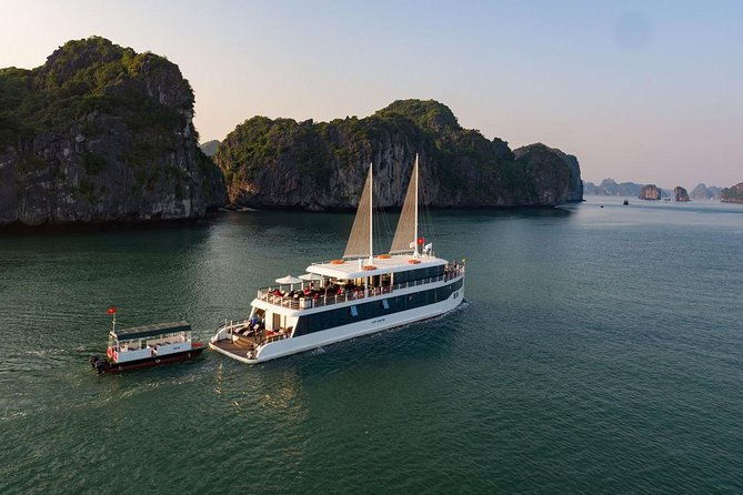 Halong bay Luxury one day tour from Tuan Chau island photo 19