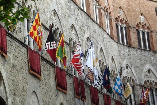 Piazza del Campo und Siena's Contrade, Bezirke