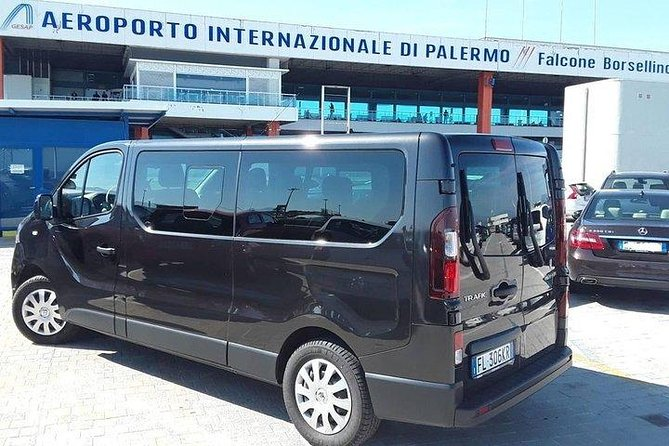 Express Shuttle Sharing from Trapani port to Palermo airport