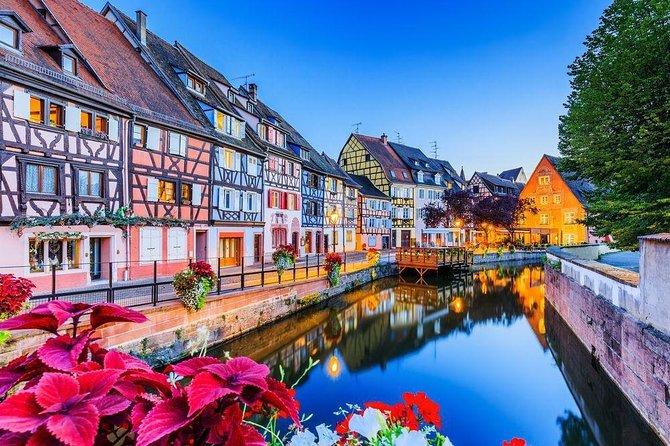 Wine Route Departure Colmar : Strasbourg - Obernai - Haut Koenigsbourg Castle