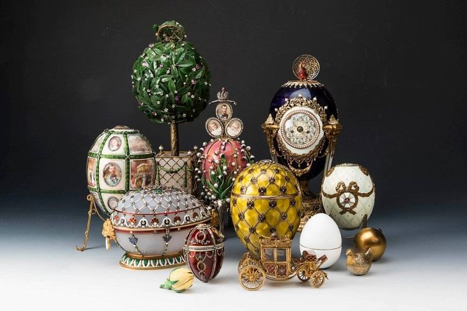 National treasure (amber room, Fabergé museum, Church of the Spilled Blood)
