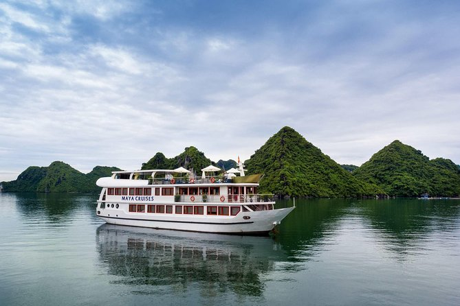 Maya Cruise - Ha Long Bay & Lan Ha Bay 2 Days 1 Night Luxury Tour
