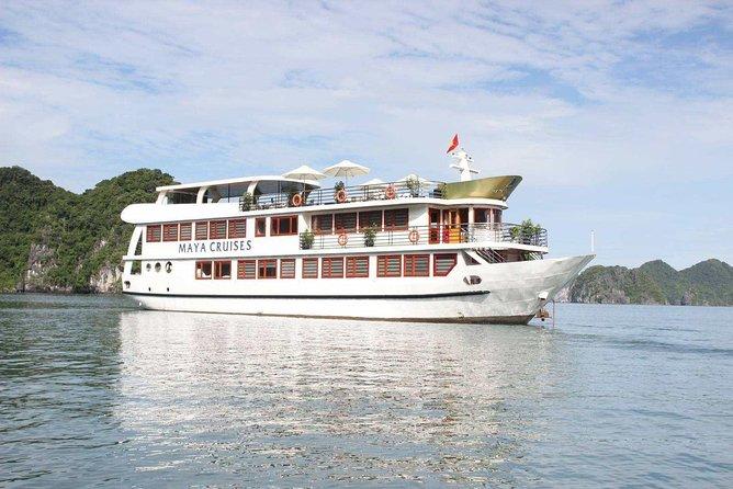 Maya Cruise - Ha Long Bay & Lan Ha Bay 3 Days 2 Nights Luxury Tour