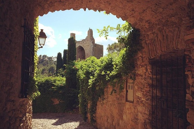 Private Tour to Pals, Peratallada and a local winery from Palamós port