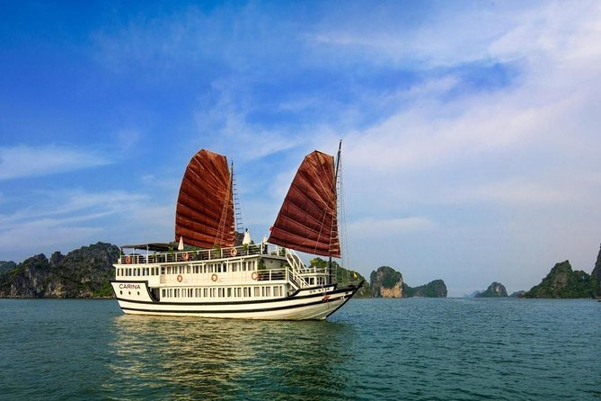 BOUTIQUE CRUISES Halong Bay 2 Days,1 Night Tour : Swimming, Caving,Kayaking