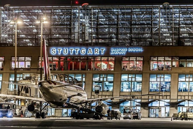 Private transfert to Stuttgart airport from Colmar or the opposite way