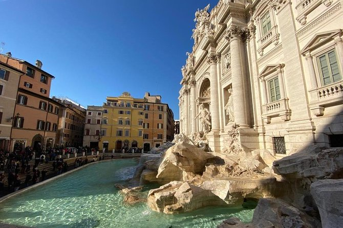 Trevi Fountain, Spanish Steps, Navona Square Small Group Tour