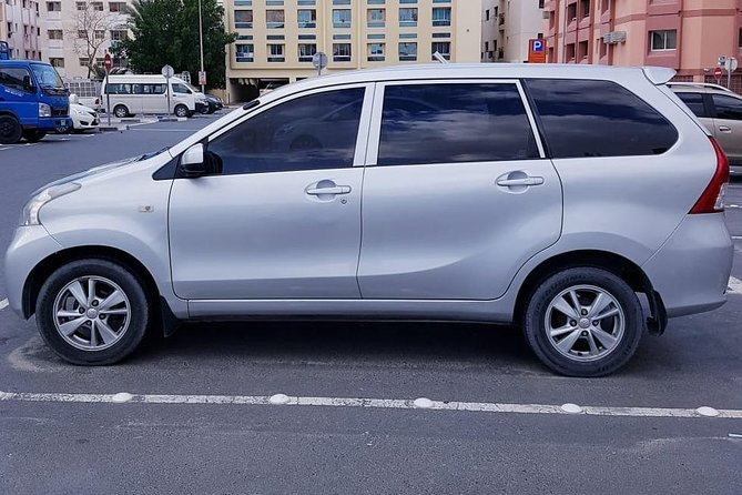 7 Seater Car/Minivan With Driver - Half/Full Day
