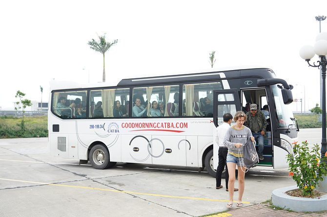 Bus Ha Noi to Cat Ba island