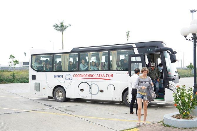 Bus Cat Ba island to Ha Noi