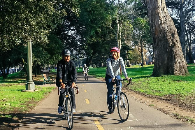 The Beauty of San Francisco by Bike Private Tour