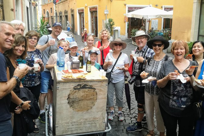 Rome Street Food & Walking Tour to Pantheon and Campo'de Fiori with Foodie Guide
