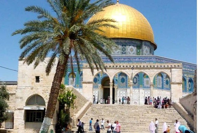 Jerusalem & Dead Sea & Church of the Holy Sepulcher & The Via Dolorosa