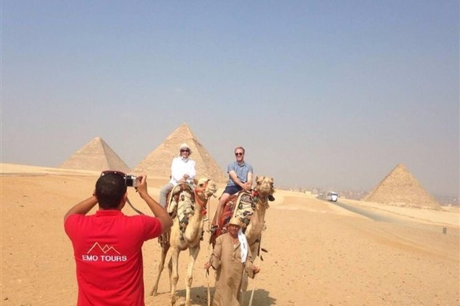 Day tour to Giza pyramids with camel ride and Egyptian museum in cairo photo 4