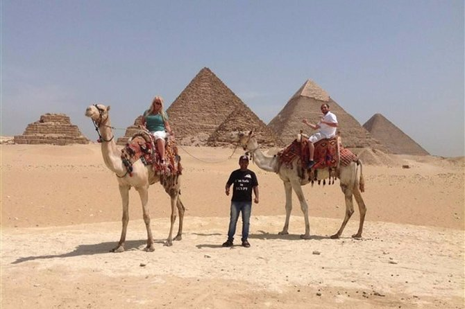 Day tour to Giza pyramids with camel ride and Egyptian museum in cairo photo 3