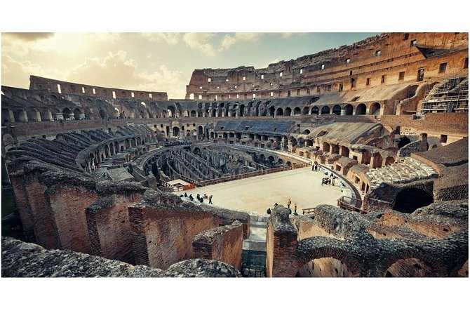 Arena Floor Access Tickets for Colosseum & Roman Forum (Skip The Line)