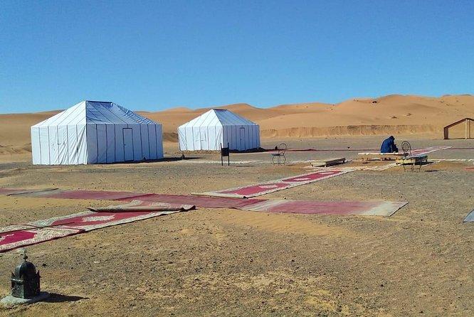 1 Night Camel Trekking Tour in Merzouga Desert Camp