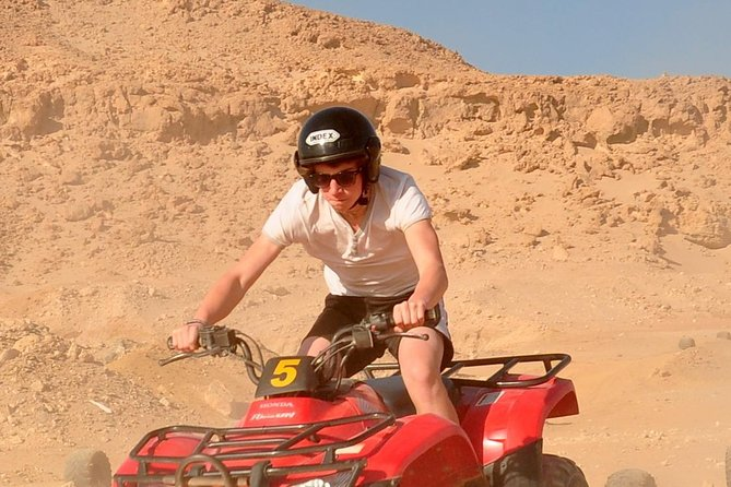 Moto Marine Safari By ATV Quad & Snorkeling Excursion - Marsa Alam