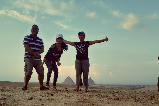 Private Day Tour at Giza Pyramids, Sakkara & Memphis