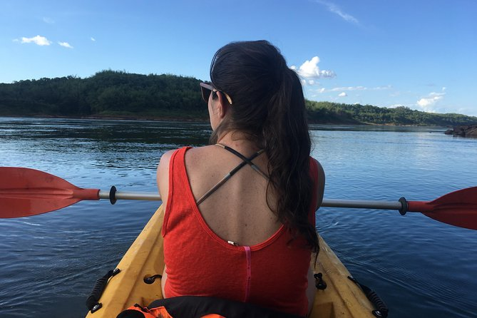 Full Day On Private: Forest & Kayak & Lunch & River Navigation to a cascade