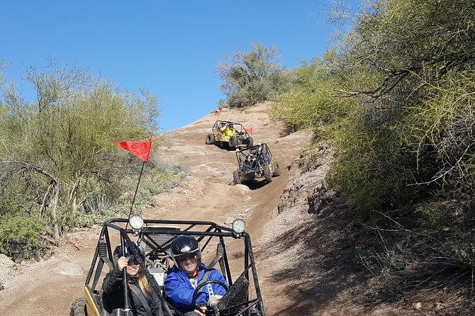 2 Person Guided U-Drive ATV Sand Buggy Tour Scottsdale/Phoenix photo 13