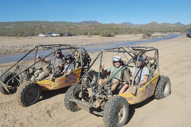 2 Person Guided U-Drive ATV Sand Buggy Tour Scottsdale/Phoenix photo 16