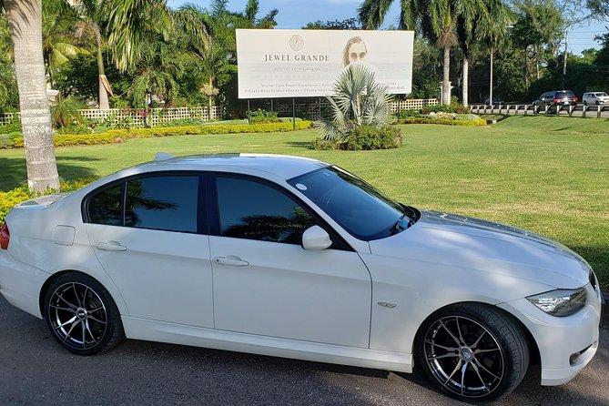 BMW from Montego Bay airport- Hyatt Zilara/Ziva