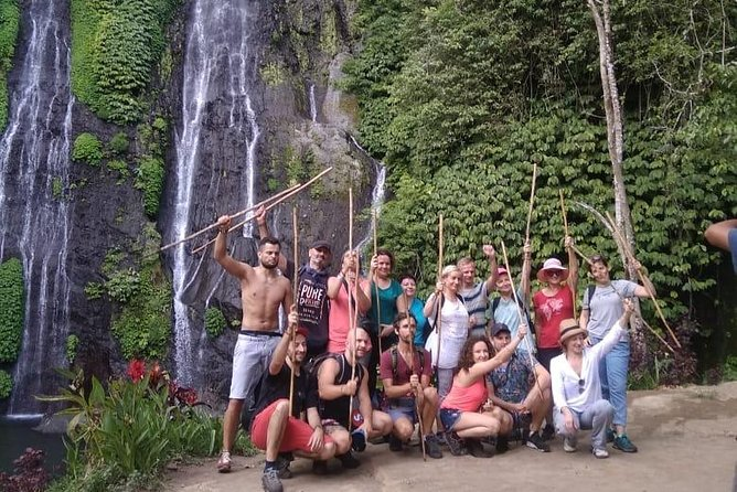 Combine of Tamblingan Waterfall and Twin Lake Tour