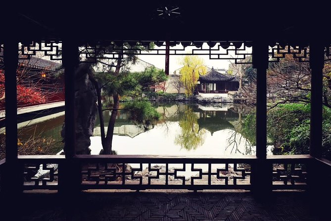 Suzhou Prviate Tour: Garden of Cultivation, Shantang Street,Embroidery, Rickshaw photo 7