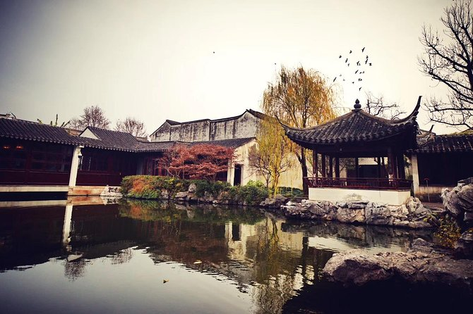 Suzhou Prviate Tour: Garden of Cultivation, Shantang Street,Embroidery, Rickshaw photo 4
