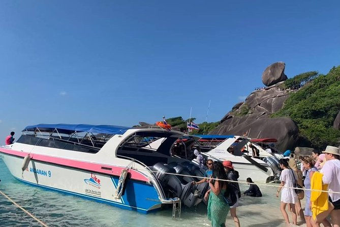 PHUKET: Join Tour Full Day in Paradise of Similan 1 Day Tour Phang-nga bay photo 8