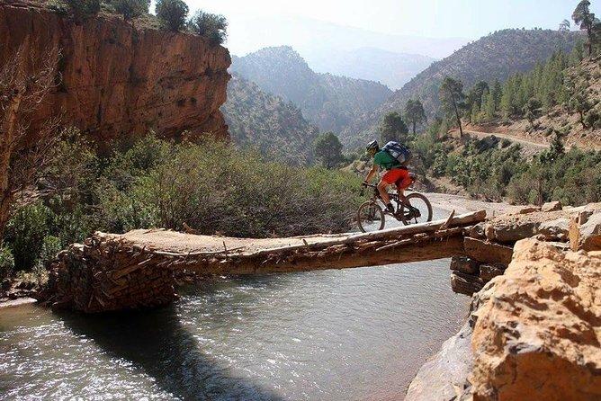 Mountain Bike in Imlil High Atlas Mountains: Imlil and Ouirgane Day trip